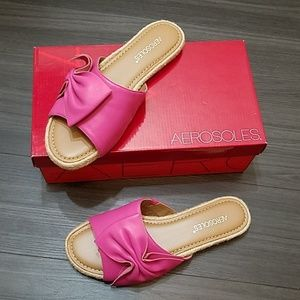 Aerosoles Buttercup Pink Sandals